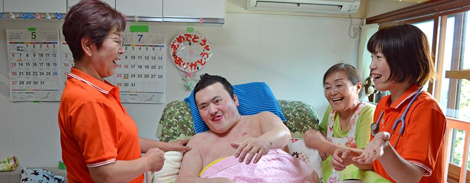訪問看護のイメージ