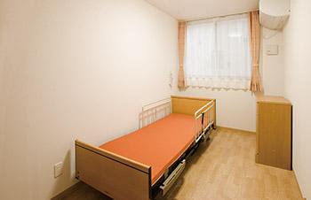 看護小規模多機能型居宅介護の居室。
